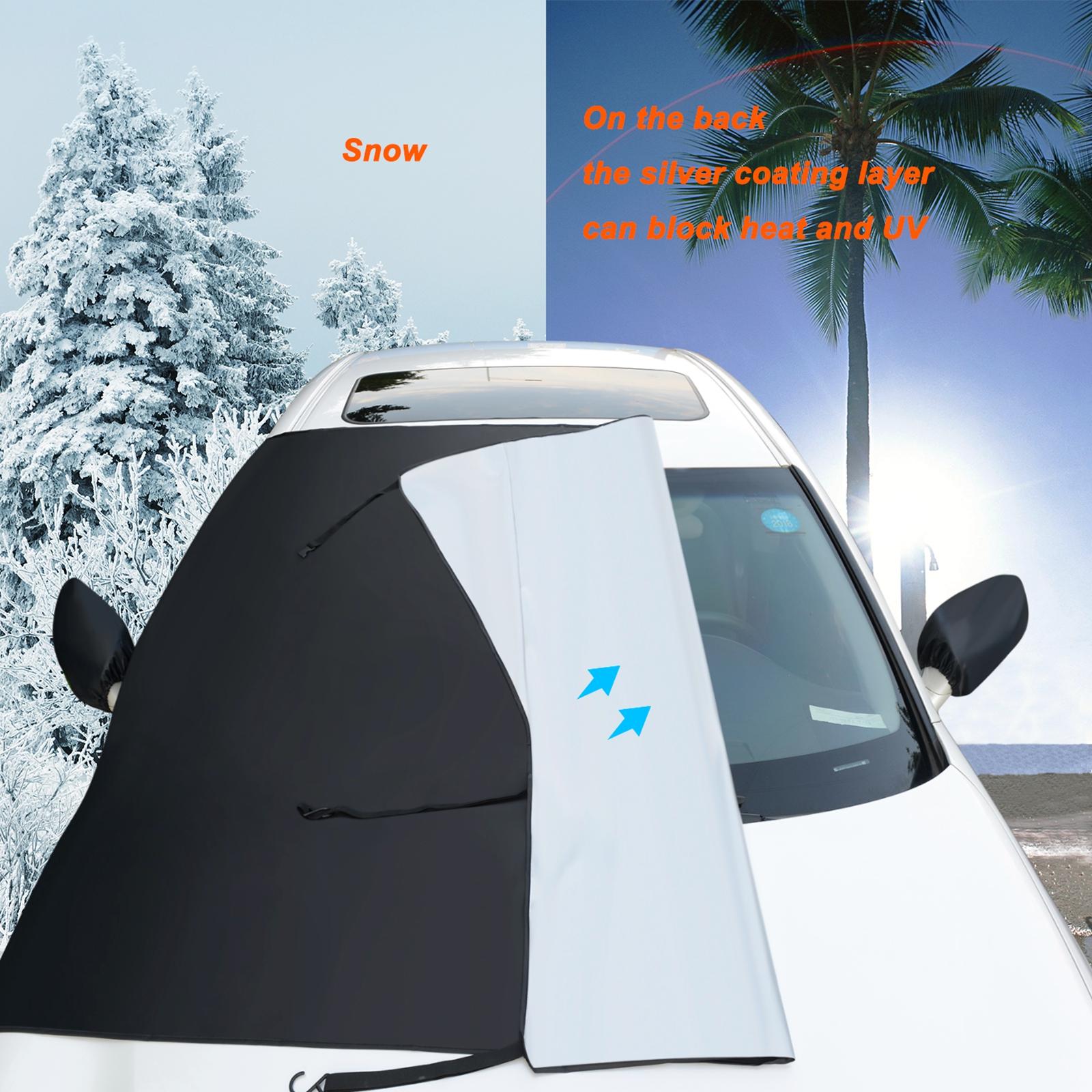 Auto Windschutzscheibe Abdeckung Polyester Fenster Schnee Ice Protector SUV TS
