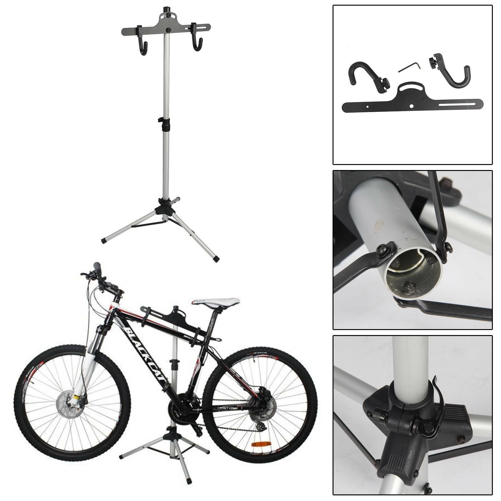 UK Bicycle Bike Home Adjustable Repair Mechanic Maintenance Stand Workstand
