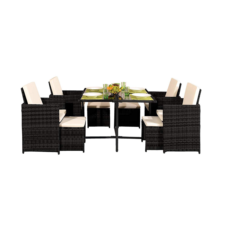 4-9-PCS-Ratten-Garden-Furniture-Set-Table-Chair-Sofa-Conservatory-Patio-Outdoor thumbnail 17