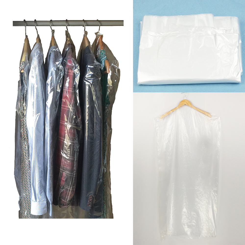Garment Covers Clear Plastic Suit Shirt