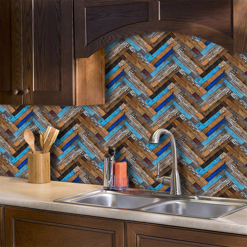 vinyl selfadhesive 3d brick tile wall stickers kitchen