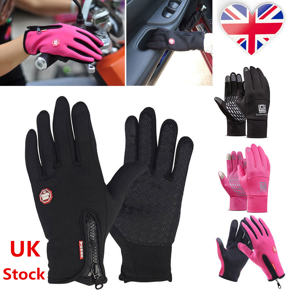 Winter Warm Windproof Waterproof Anti-slip Thermal Touch Screen Gloves Xmas Gift