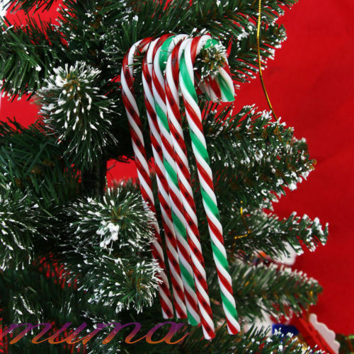 Candy Cane Christmas Tree.Details About 20pcs Christmas Tree Ornaments Acrylic Xmas Candy Cane Craft Blank Decoration Uk