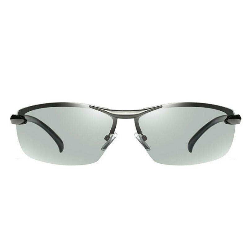 Occhiali-da-Sole-da-Uomo-Donna-Polarizzati-Fotocromatici-Sportivi-polaroid miniatura 12