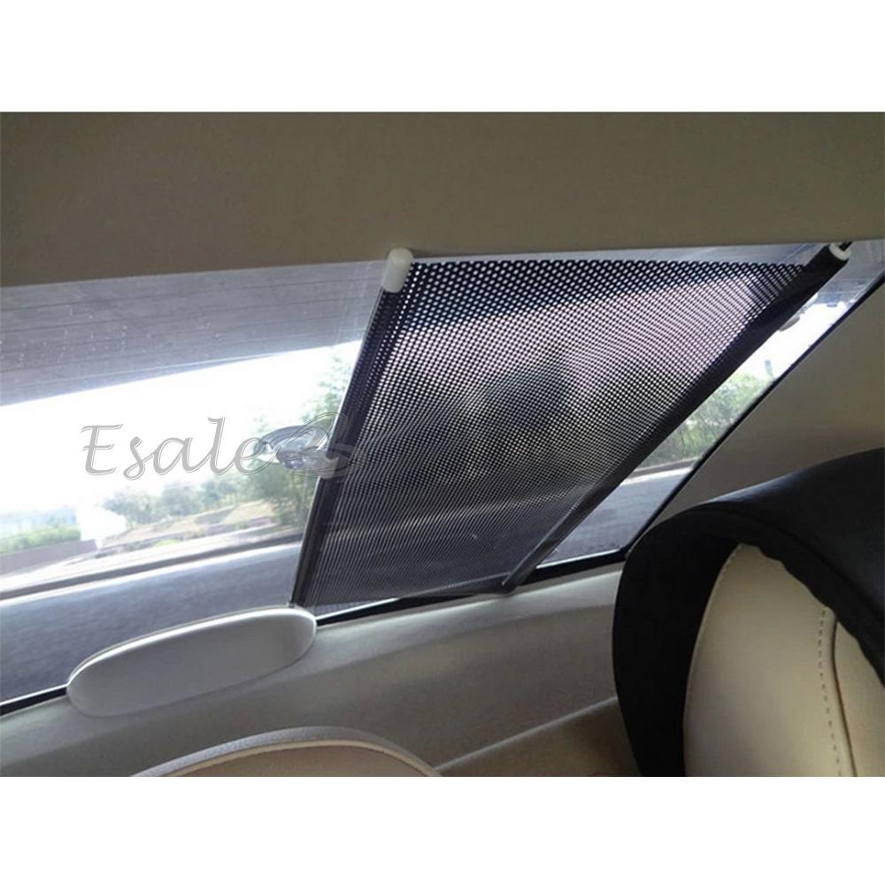 auto sonnenrollo sonnenschutz f r ausziehbar frontscheibe 125x50cm hot universal ebay. Black Bedroom Furniture Sets. Home Design Ideas
