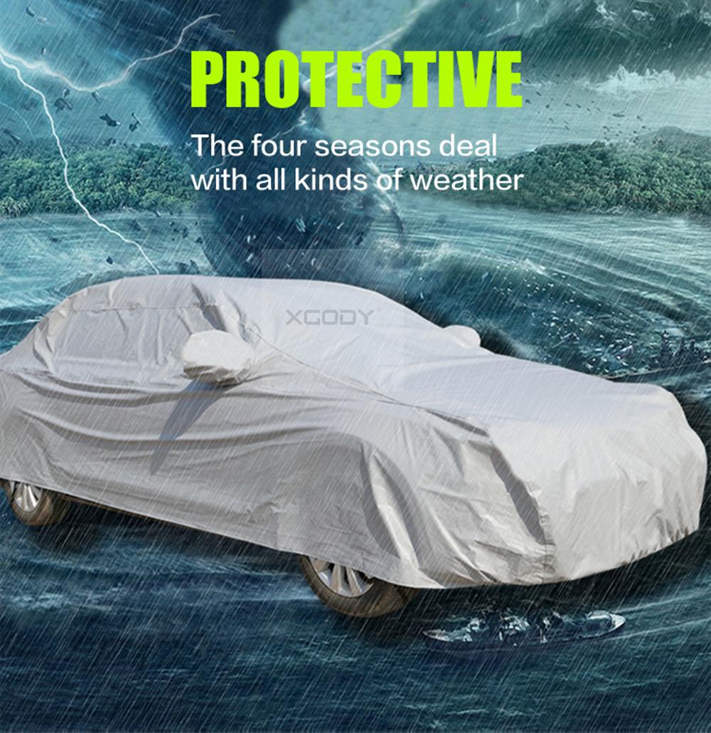 Größe Garage: M Autoabdeckung Größe Ganzgarage UV-Schutz Vollgarage