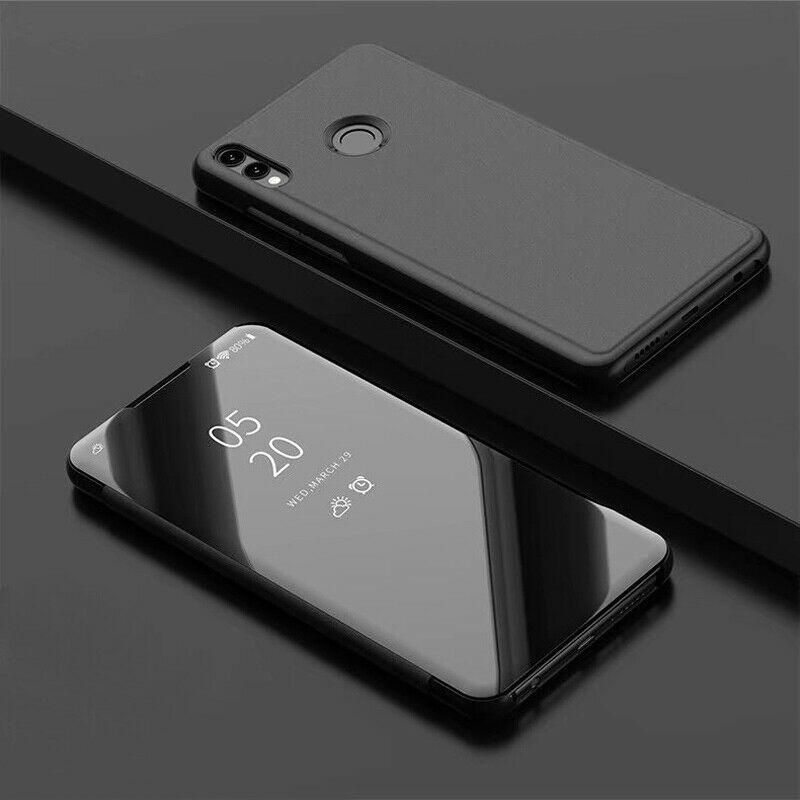 thumbnail 18 - For-Samsung-A10-A20e-A40-A50-A70-Clear-360-View-Mirror-Flip-Stand-Case-Cover