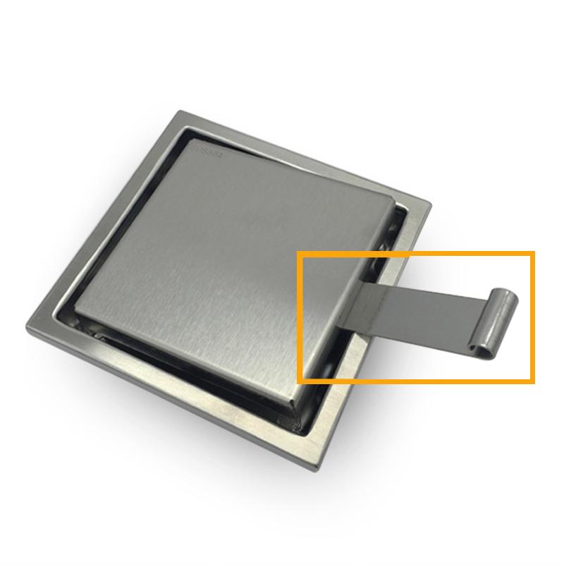 miniatura 16 - 304 IN ACCIAIO INOX SCARICO di doccia scadenza Pavimento Scarico befliesbar 150mm