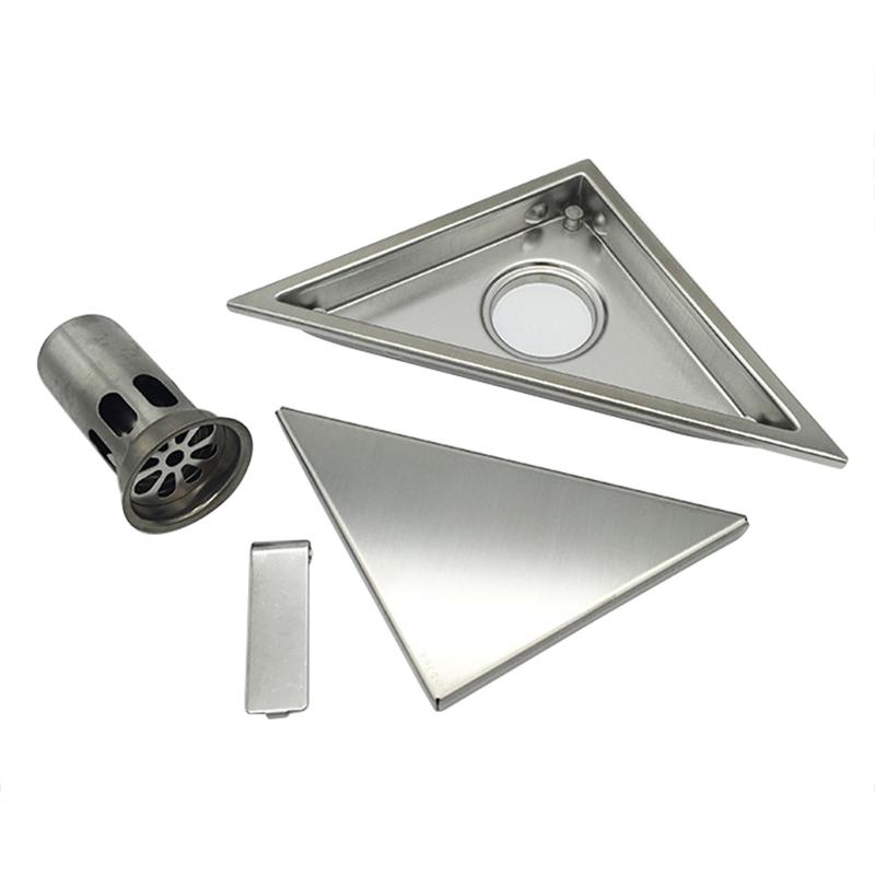 miniatura 25 - 304 IN ACCIAIO INOX SCARICO di doccia scadenza Pavimento Scarico befliesbar 150mm