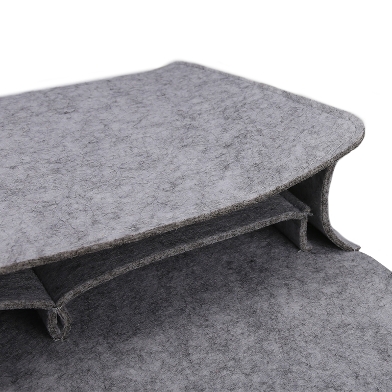 Felt Bedside Pocket Caddy Storage Organizer Bed Organizing Desk Sofa Holder