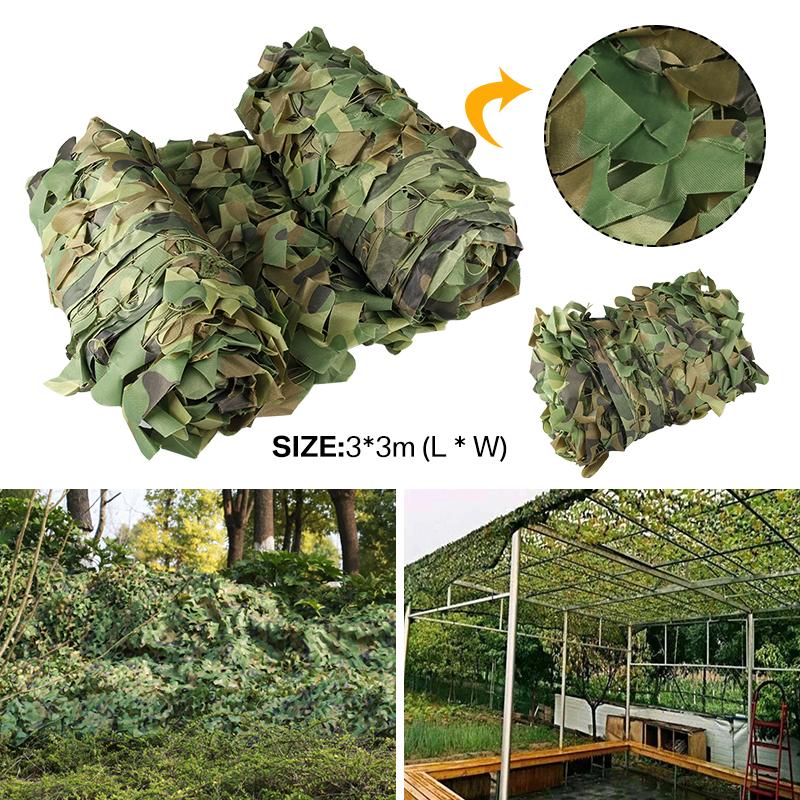 TARNNETZ oliv camouflage net Tarnung Sichtschutz Bundeswehr 3x5 m original BRIT