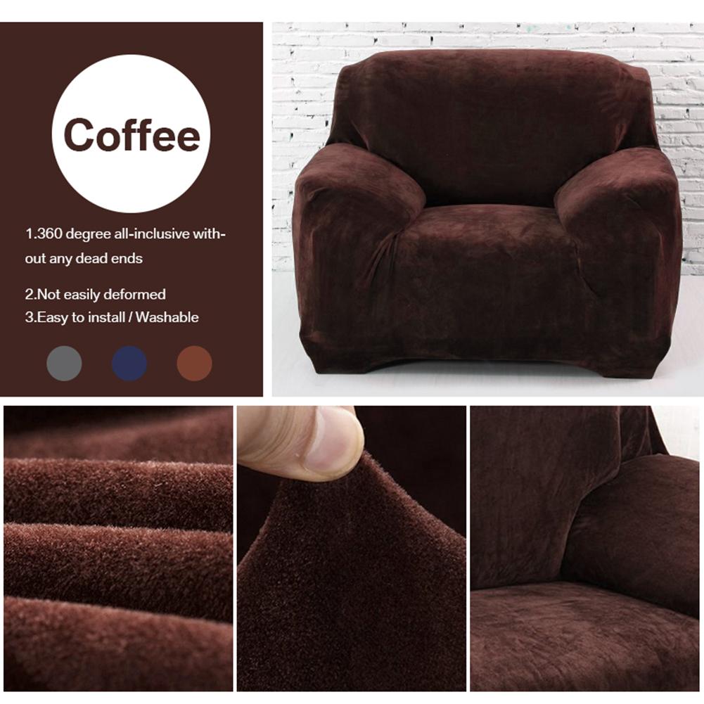 Housse-Revetement-de-Canape-Tissu-Elastique-Extensible-Compatible-1-2-3-4-Places miniature 14