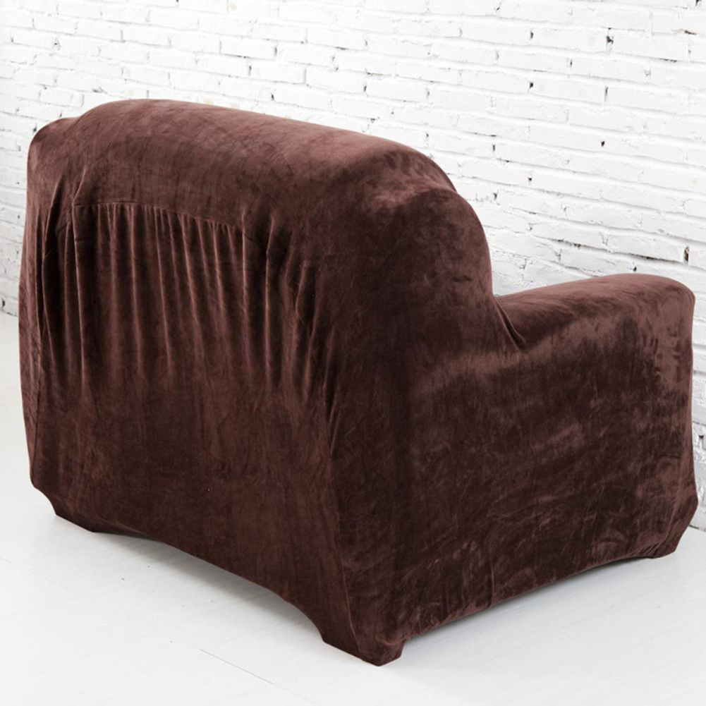 Housse-Revetement-de-Canape-Tissu-Elastique-Extensible-Compatible-1-2-3-4-Places miniature 17