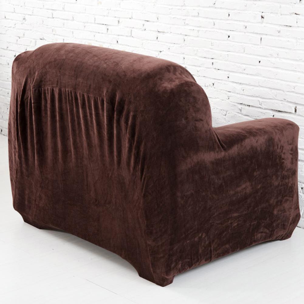 Housse-Revetement-de-Canape-Tissu-Elastique-Extensible-Compatible-1-2-3-4-Places miniature 19