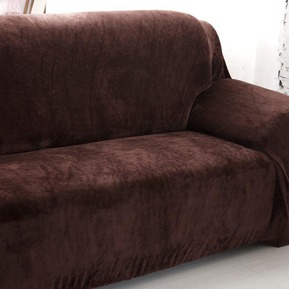 Housse-Revetement-de-Canape-Tissu-Elastique-Extensible-Compatible-1-2-3-4-Places miniature 20