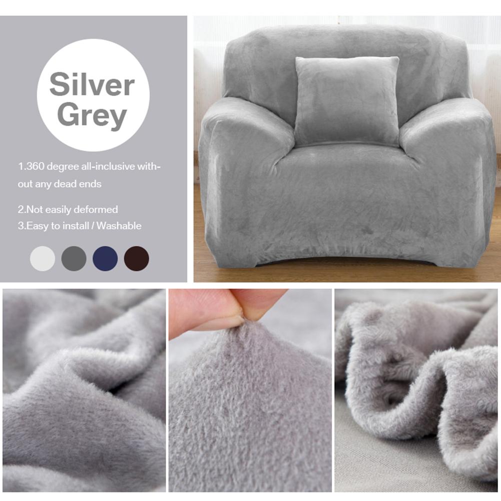 Housse-Revetement-de-Canape-Tissu-Elastique-Extensible-Compatible-1-2-3-4-Places miniature 26