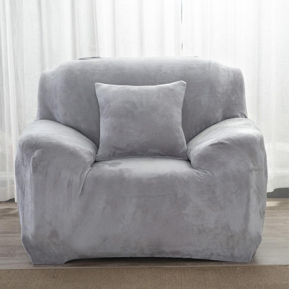 Housse-Revetement-de-Canape-Tissu-Elastique-Extensible-Compatible-1-2-3-4-Places miniature 29