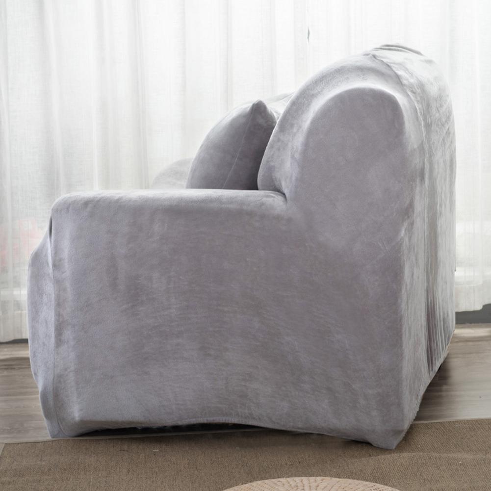 Housse-Revetement-de-Canape-Tissu-Elastique-Extensible-Compatible-1-2-3-4-Places miniature 30
