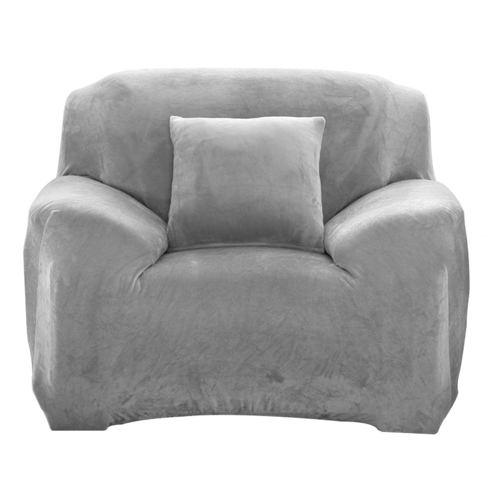 Housse-Revetement-de-Canape-Tissu-Elastique-Extensible-Compatible-1-2-3-4-Places miniature 32