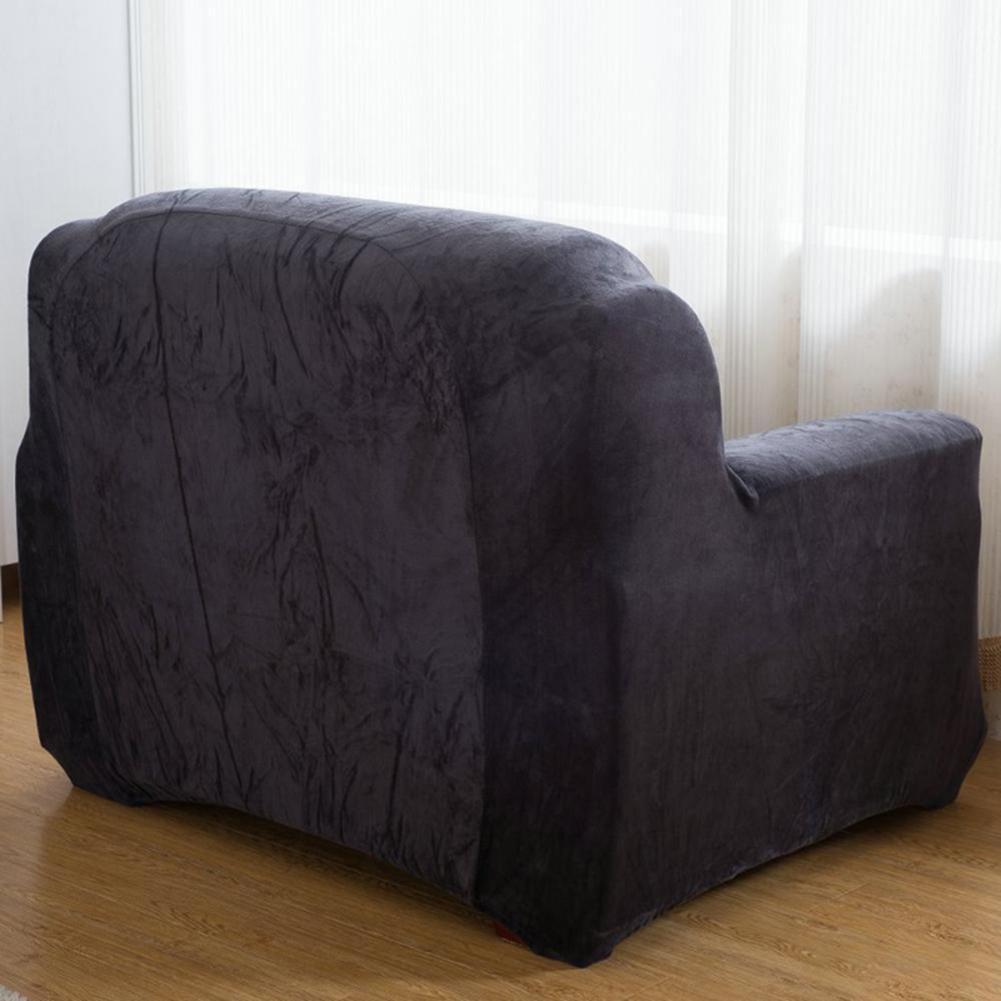 Housse-Revetement-de-Canape-Tissu-Elastique-Extensible-Compatible-1-2-3-4-Places miniature 40