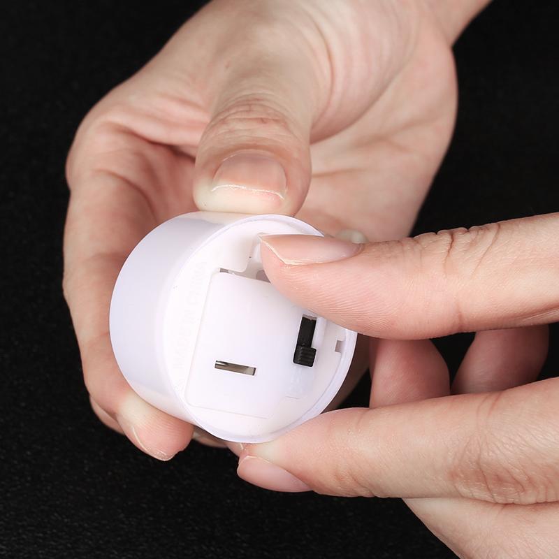 24pz-Candele-Tremolante-Candela-TEALIGHT-a-Led-Luce-Oscillante-Con-Telecomando miniatura 17