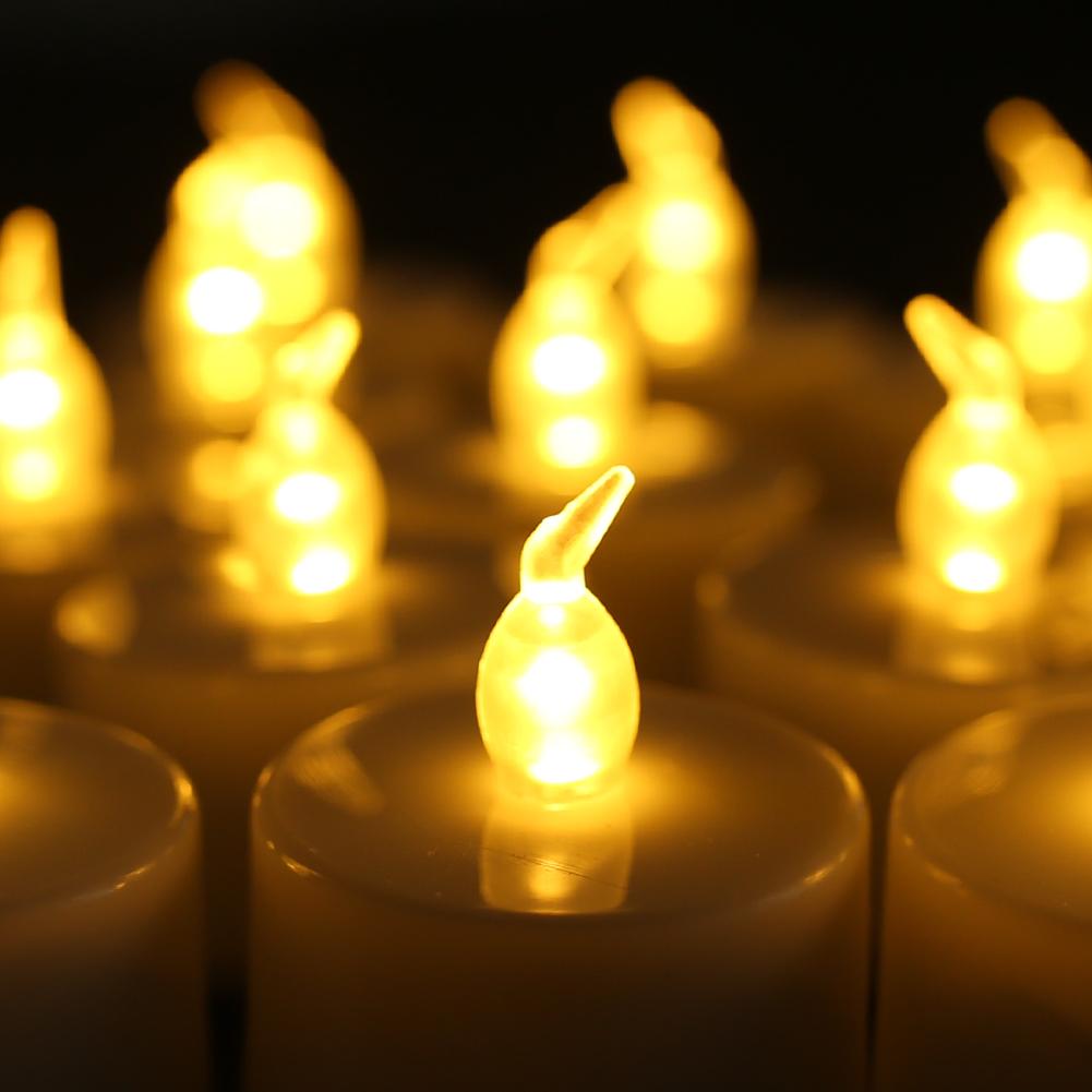 24PZ-Lumiere-de-Bougie-Lampe-LED-Batterie-Electrique-The-Scintillant-Sans-Flamme miniature 15