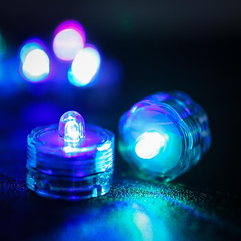 SOMMERGIBILE-Impermeabile-a-batteria-luci-LED-Triplo-da-te-all-039-acqua-Floralyte-Brillante miniatura 16