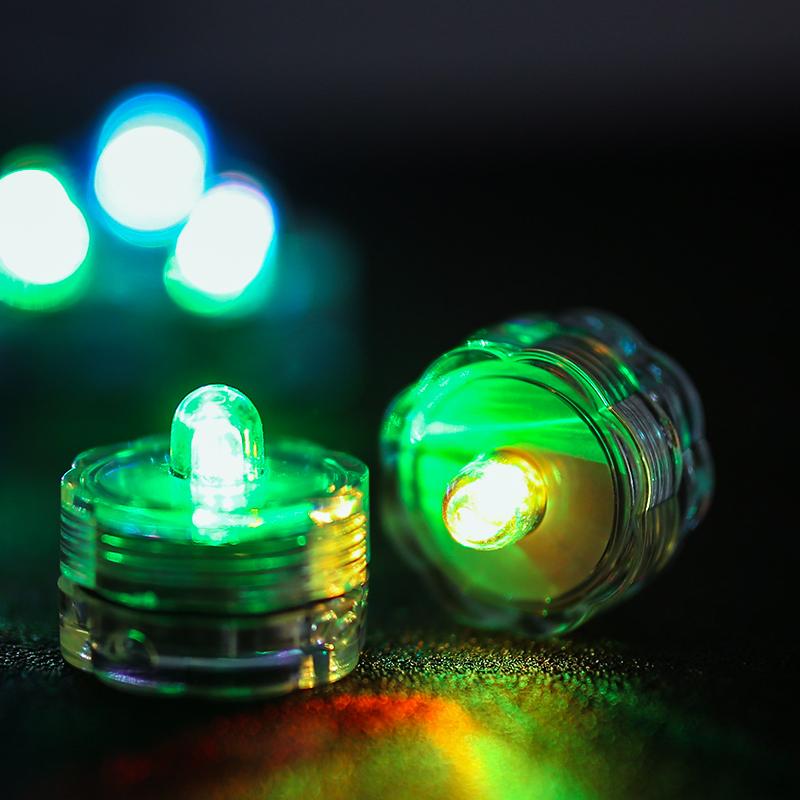 SOMMERGIBILE-Impermeabile-a-batteria-luci-LED-Triplo-da-te-all-039-acqua-Floralyte-Brillante miniatura 17