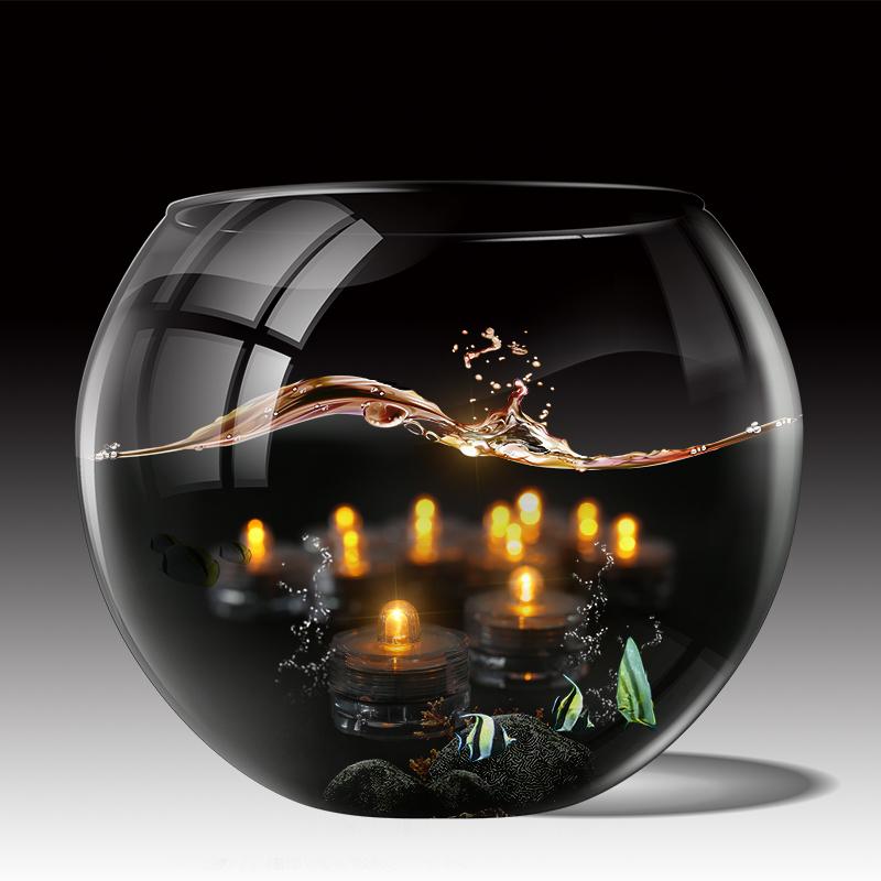 SOMMERGIBILE-Impermeabile-a-batteria-luci-LED-Triplo-da-te-all-039-acqua-Floralyte-Brillante miniatura 23