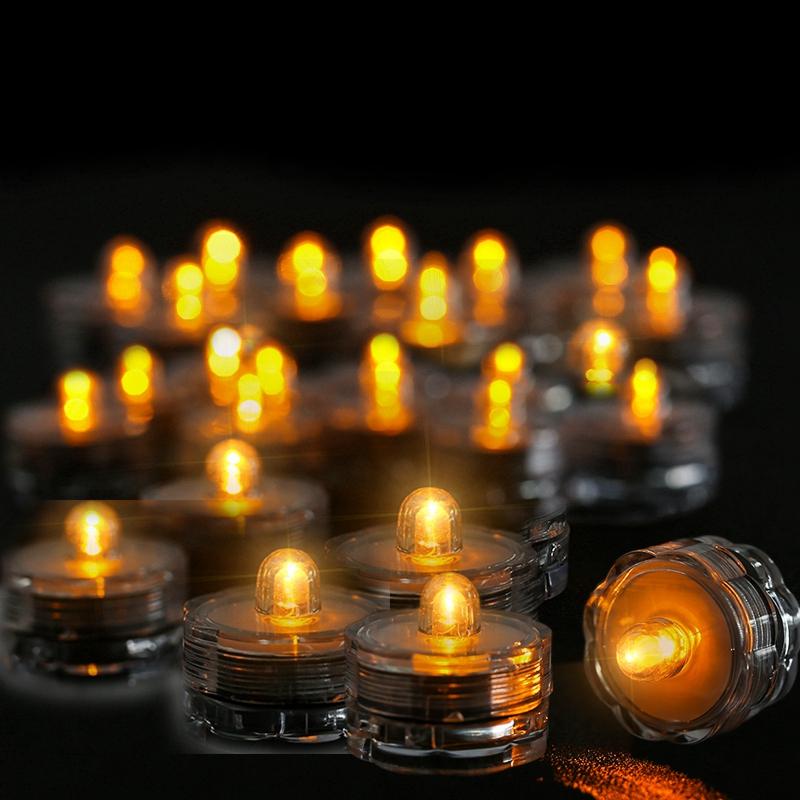 SOMMERGIBILE-Impermeabile-a-batteria-luci-LED-Triplo-da-te-all-039-acqua-Floralyte-Brillante miniatura 24