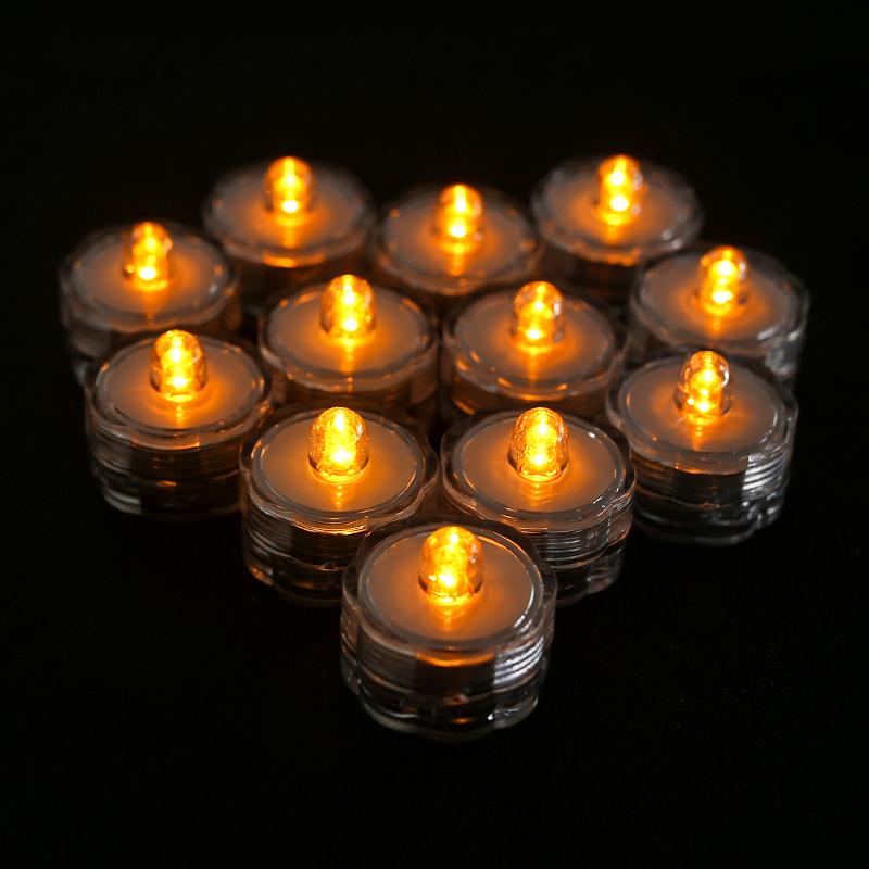 SOMMERGIBILE-Impermeabile-a-batteria-luci-LED-Triplo-da-te-all-039-acqua-Floralyte-Brillante miniatura 25