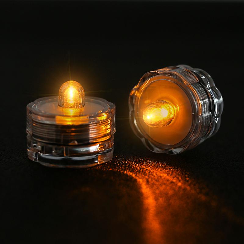 SOMMERGIBILE-Impermeabile-a-batteria-luci-LED-Triplo-da-te-all-039-acqua-Floralyte-Brillante miniatura 27
