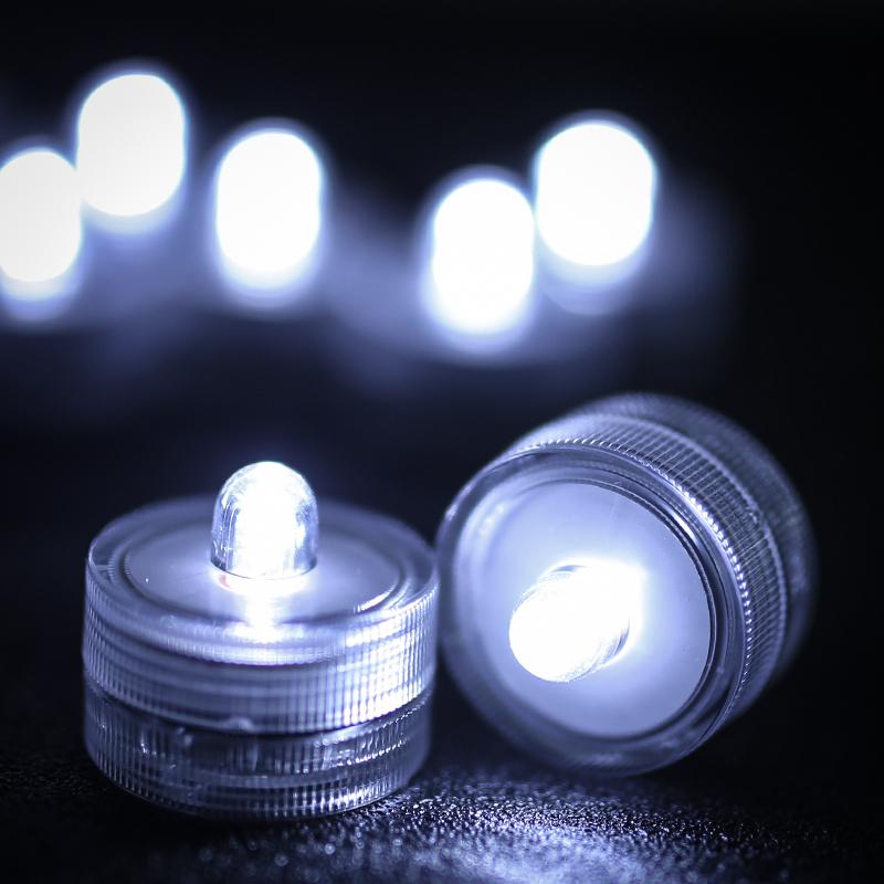 SOMMERGIBILE-Impermeabile-a-batteria-luci-LED-Triplo-da-te-all-039-acqua-Floralyte-Brillante miniatura 31