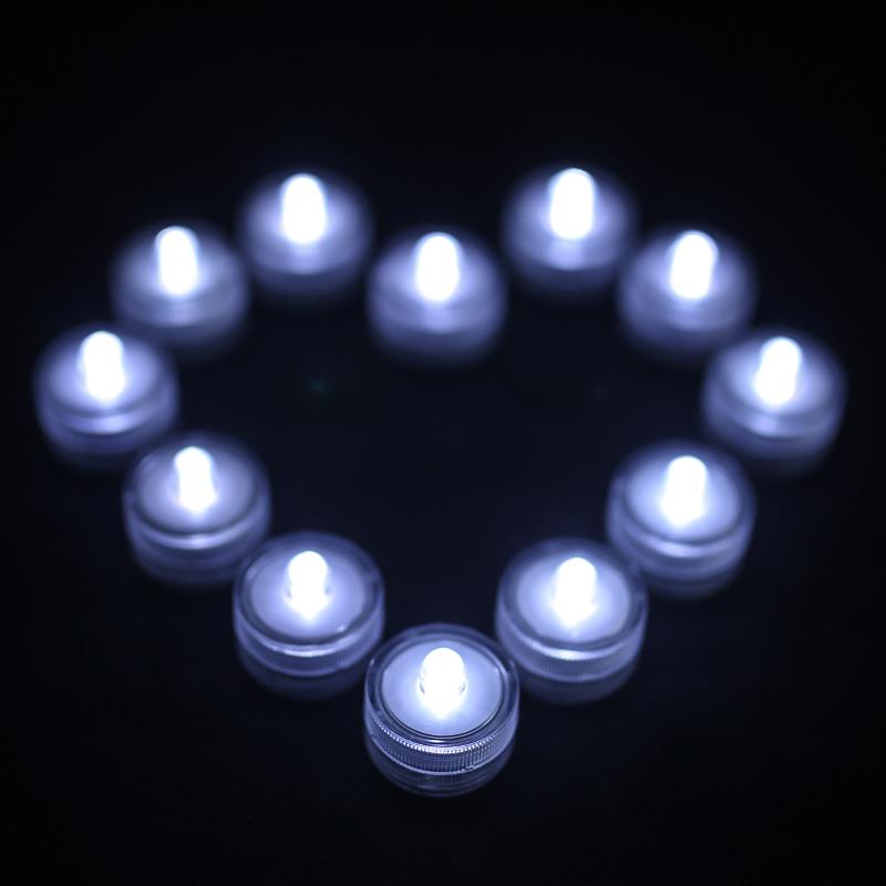 SOMMERGIBILE-Impermeabile-a-batteria-luci-LED-Triplo-da-te-all-039-acqua-Floralyte-Brillante miniatura 32