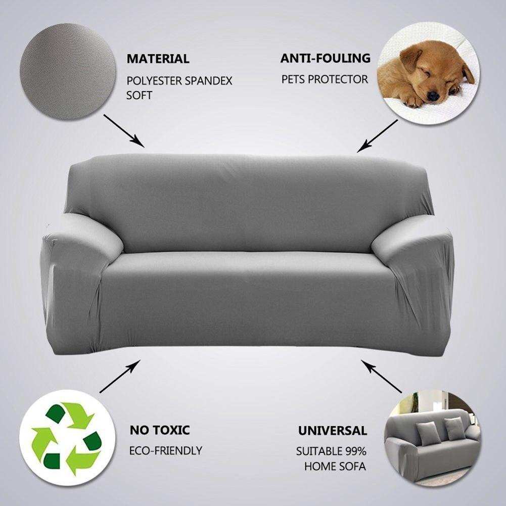 Copridivano-Divano-Jacquard-elasticizzato-sedere-Tessuto-elastico-1-2-3-Posti miniatura 11