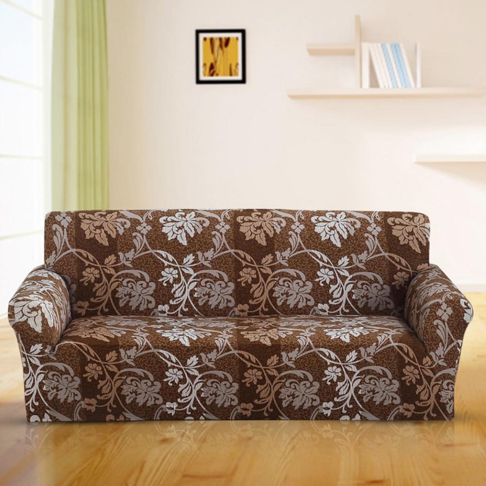 Copridivano-Divano-Jacquard-elasticizzato-sedere-Tessuto-elastico-1-2-3-Posti miniatura 81