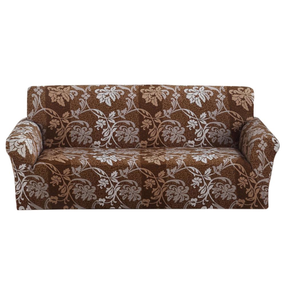 Copridivano-Divano-Jacquard-elasticizzato-sedere-Tessuto-elastico-1-2-3-Posti miniatura 82