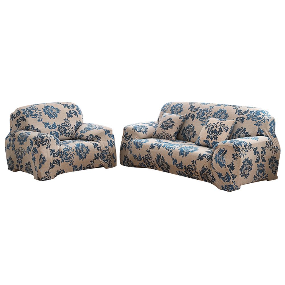Copridivano-Divano-Jacquard-elasticizzato-sedere-Tessuto-elastico-1-2-3-Posti miniatura 93