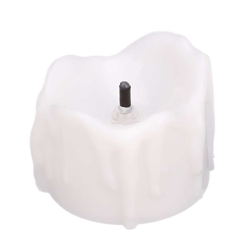 24-PEZZI-CANDELE-LUMINI-LED-senza-fiamma-CANDELINE-Lume-di-candela-Tremolante miniatura 29