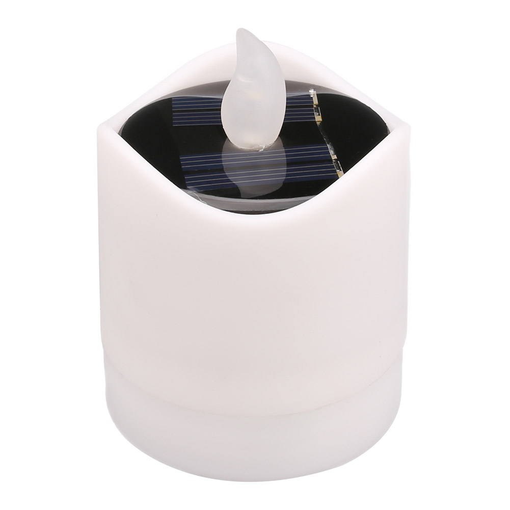 12x-LED-luce-del-te-Candele-sfarfallio-energia-solare-senza-fiamma-Lumini-Wedding-Decor miniatura 17