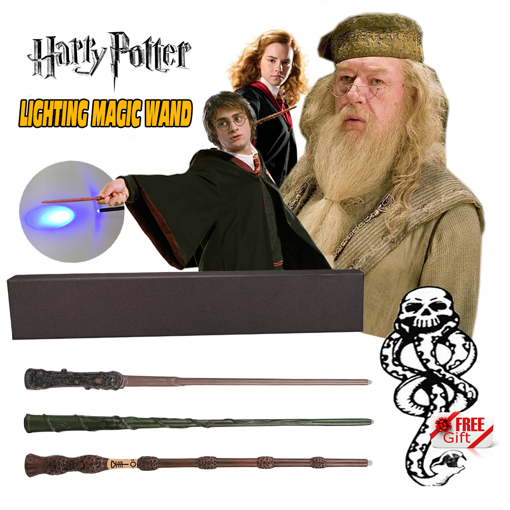 Baguette Magique HarryPotter Hermione Dumbledore Cosplay Wand Halloween Carnaval