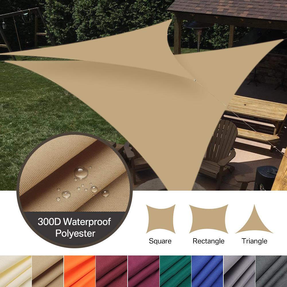 Waterproof Sun Shade Sail Garden Yard Patio Sunscreen Awning Screen 98/% UV Block