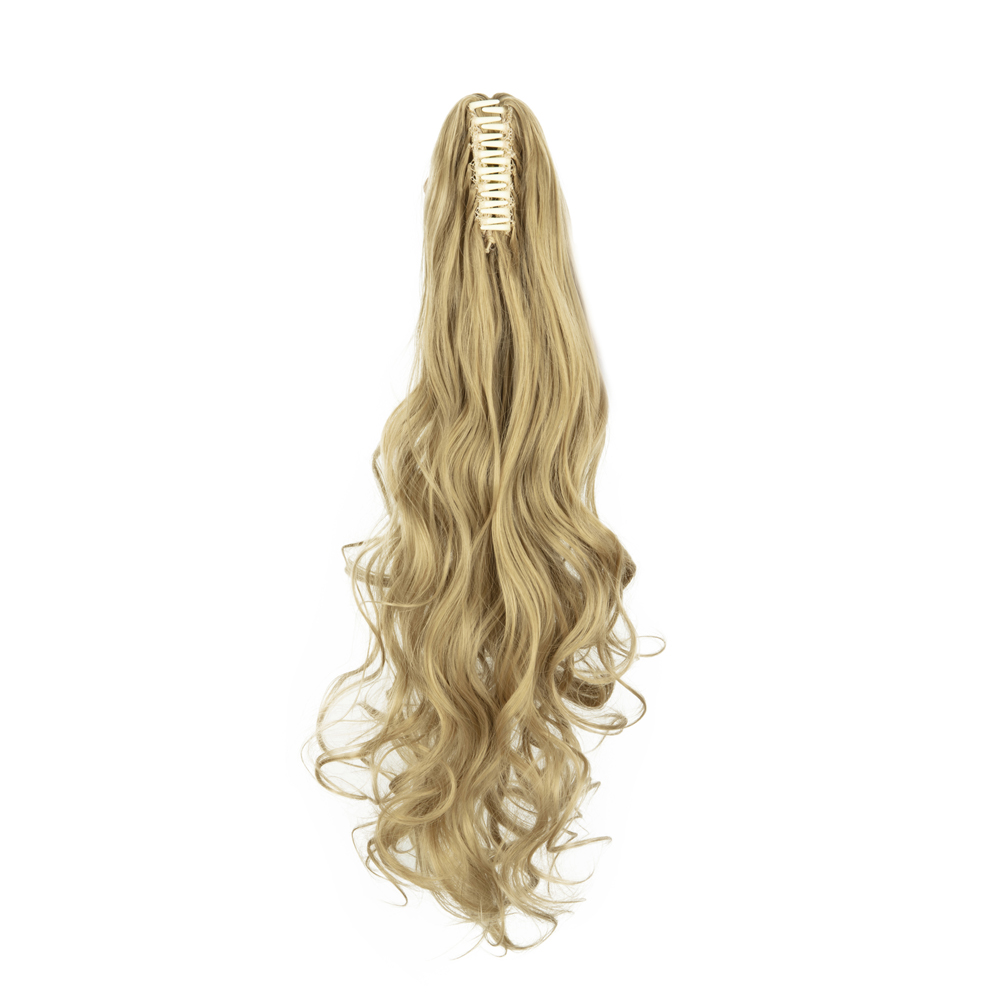 PONYTAIL-Claw-Clip-In-Hair-Extensions-Thick-Long-Wavy-Curly-Pony-Tail-As-Human thumbnail 13