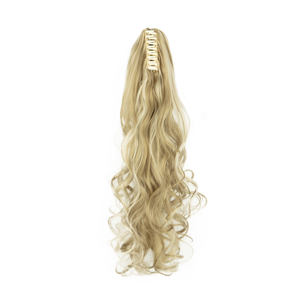 PONYTAIL-Claw-Clip-In-Hair-Extensions-Thick-Long-Wavy-Curly-Pony-Tail-As-Human thumbnail 15