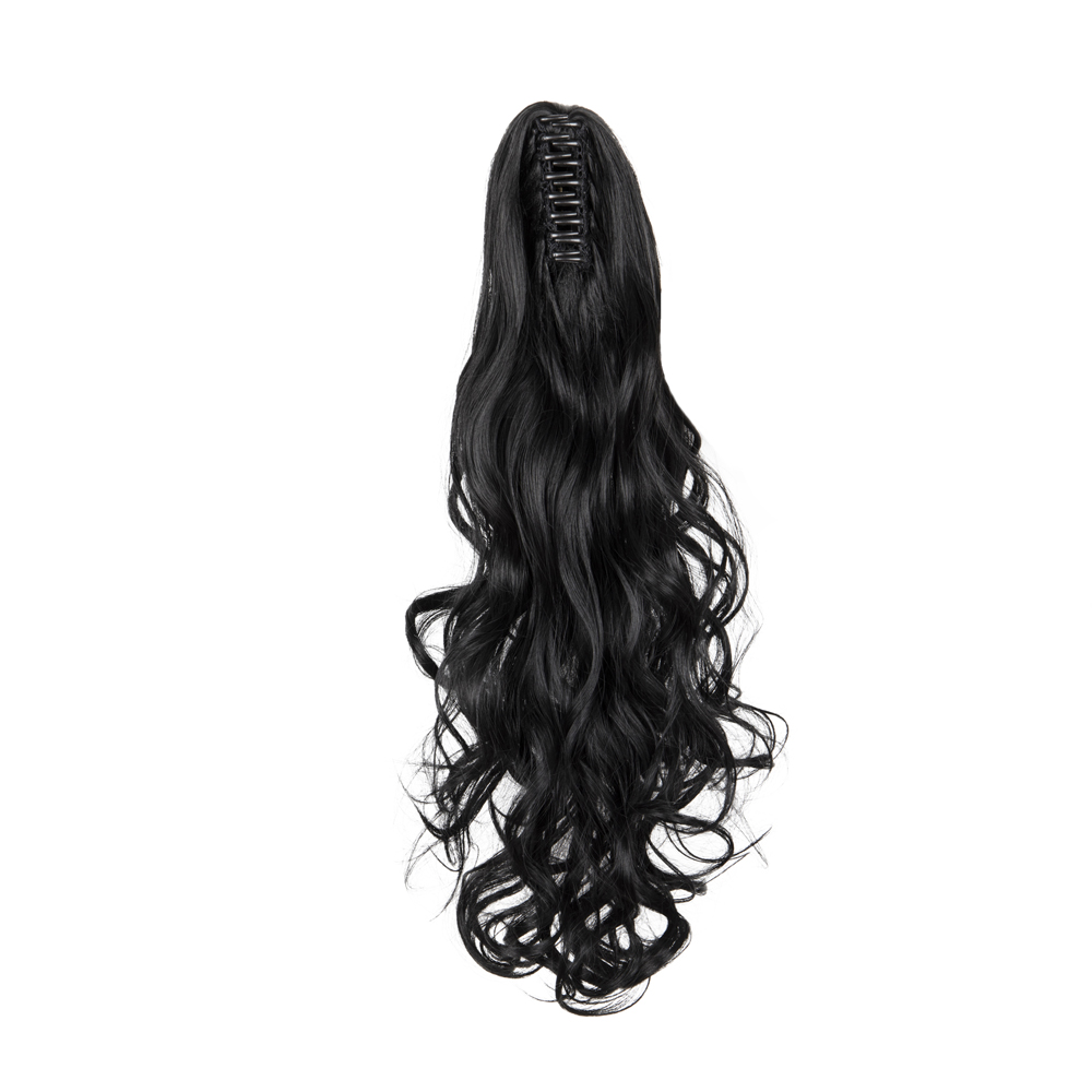 PONYTAIL-Claw-Clip-In-Hair-Extensions-Thick-Long-Wavy-Curly-Pony-Tail-As-Human thumbnail 19