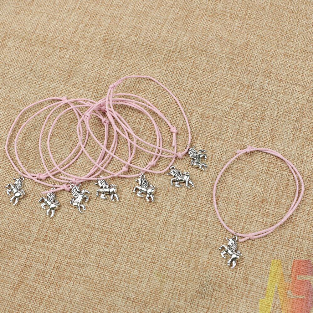 Children UNICORN Bracelet /& Necklace Set ~ Party Bag Fillers ~ Birthday ~ Gift