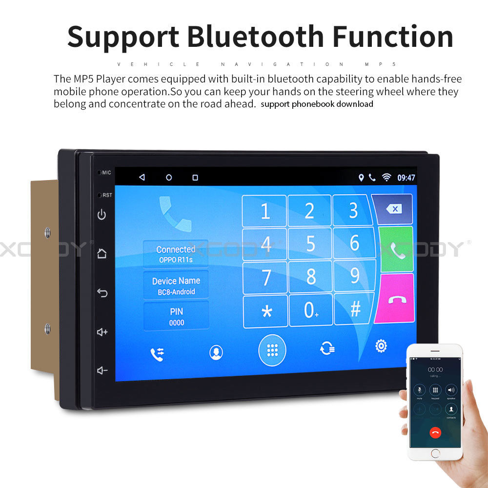 android 8 0 autoradio mit navigation navi bluetooth usb. Black Bedroom Furniture Sets. Home Design Ideas