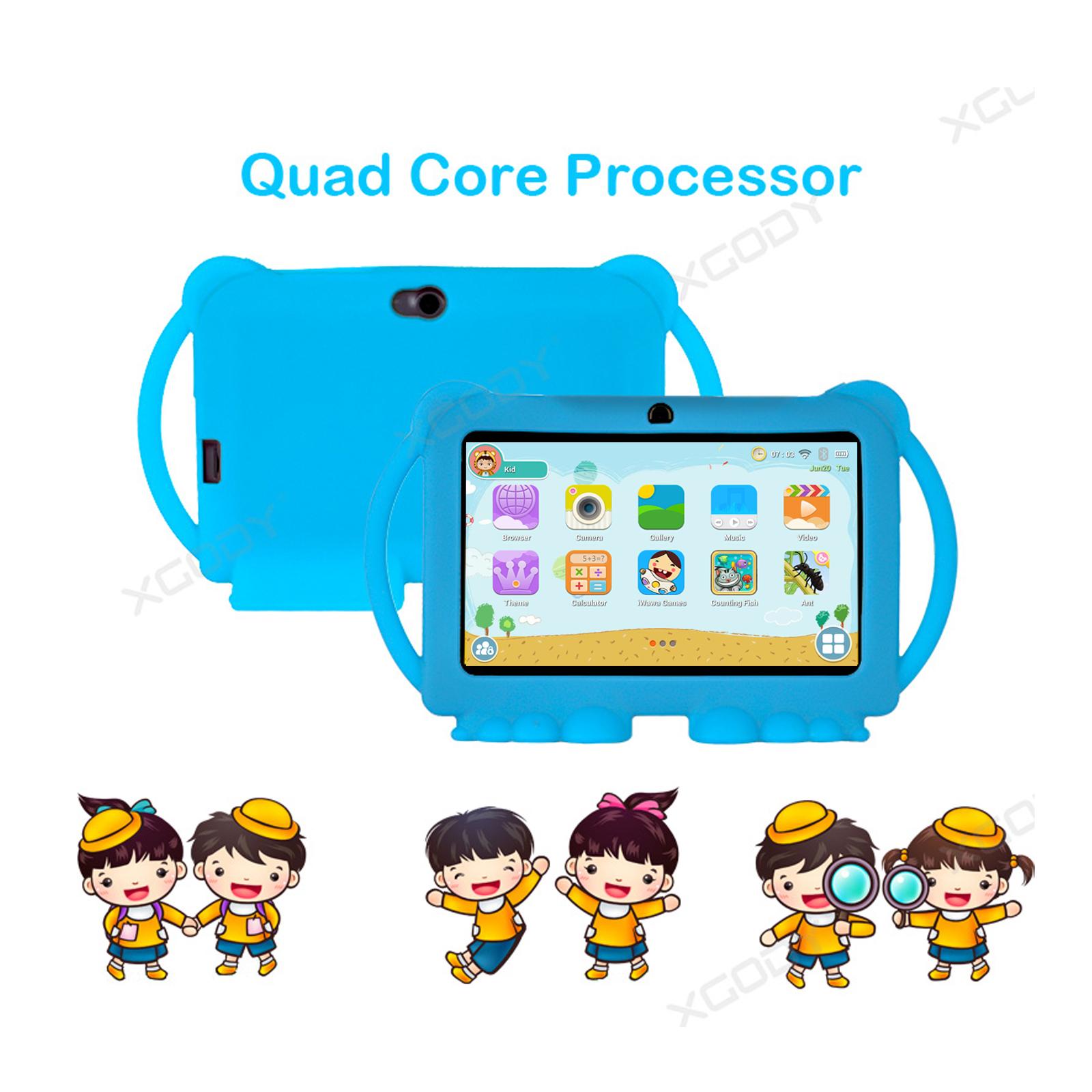 Android-8-1-7-Pulgadas-HD-Tableta-Infantil-ninos-QuadCore-1-16GB-XGODY-Tablet-PC miniatura 5