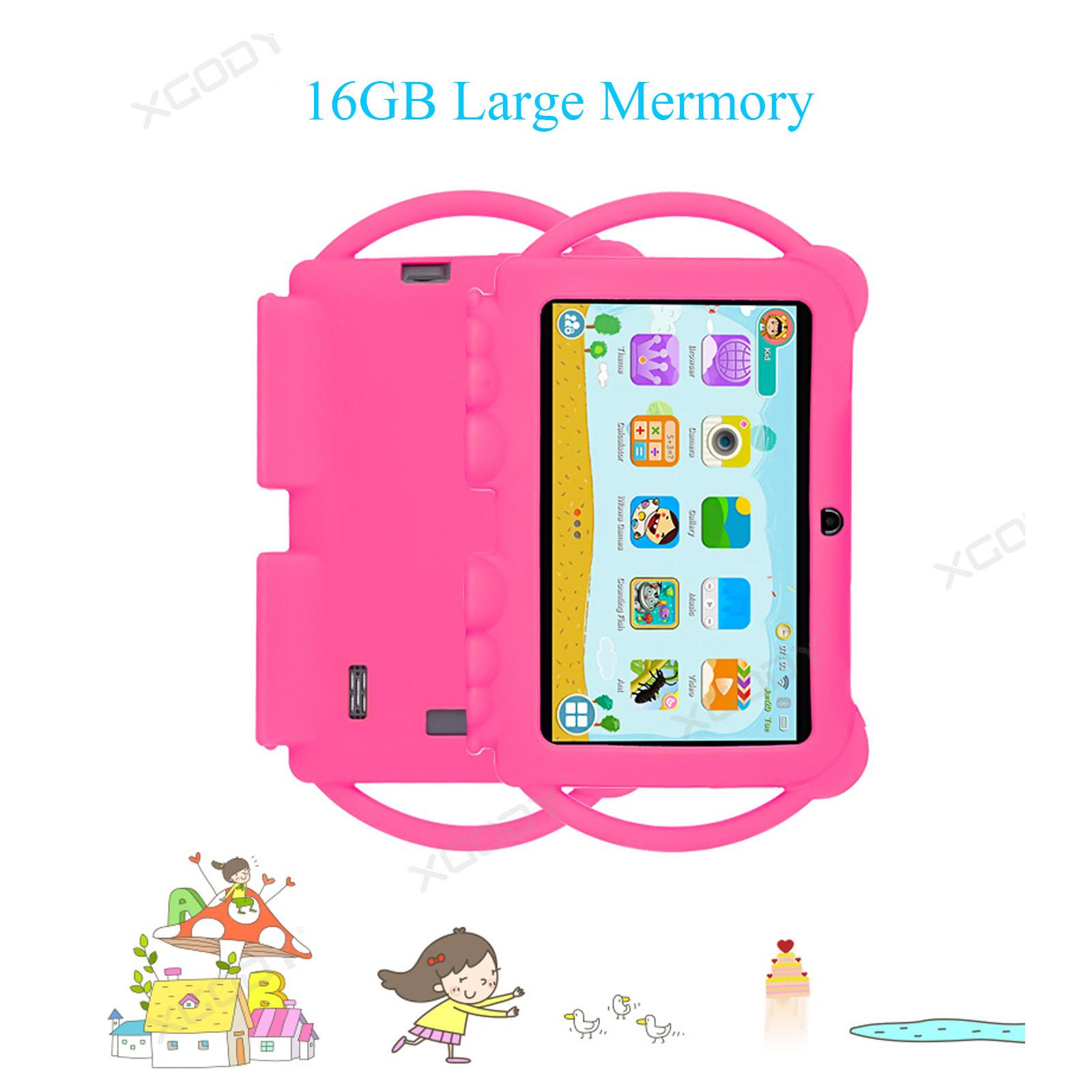 Android-8-1-7-Pulgadas-HD-Tableta-Infantil-ninos-QuadCore-1-16GB-XGODY-Tablet-PC miniatura 6