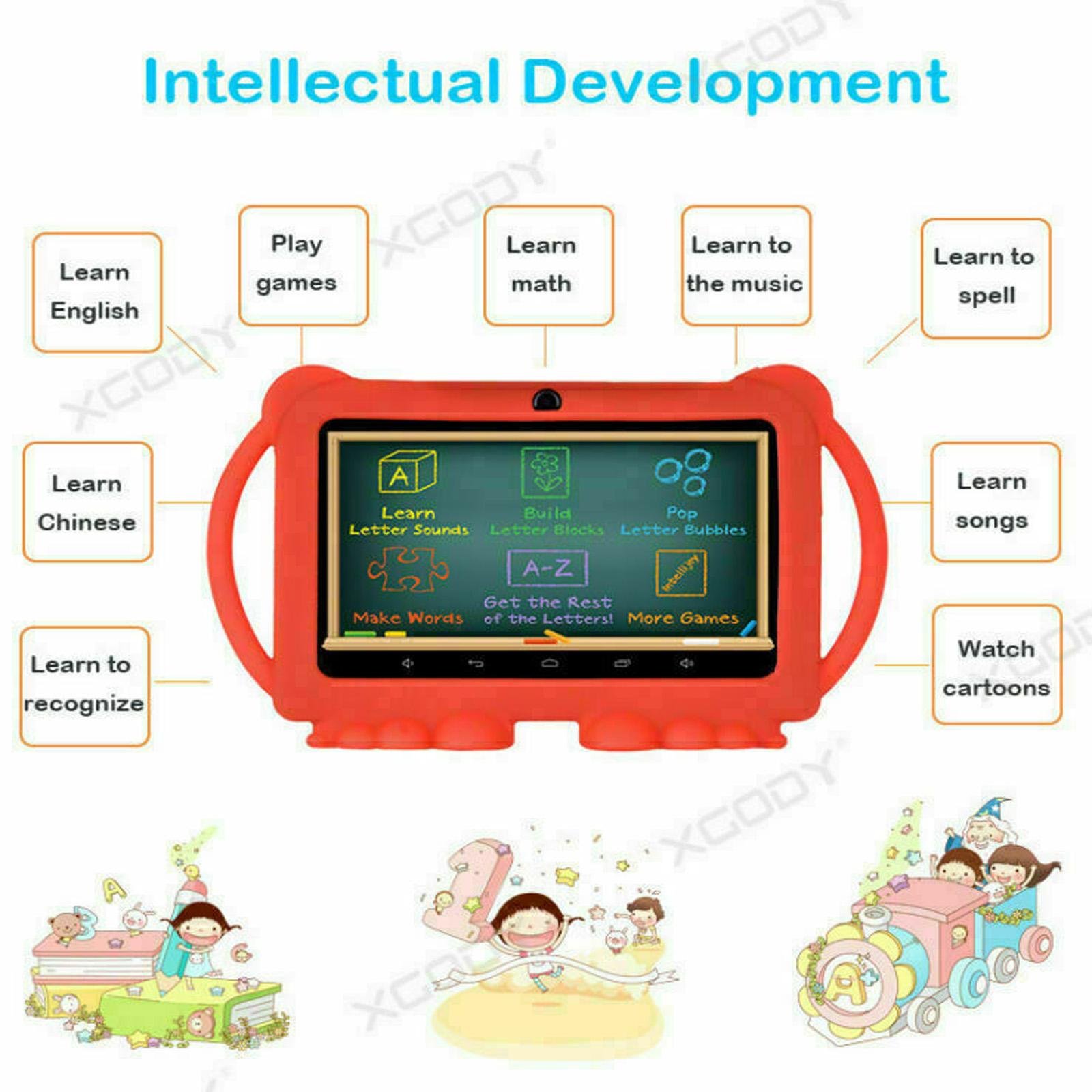 Android-8-1-7-Pulgadas-HD-Tableta-Infantil-ninos-QuadCore-1-16GB-XGODY-Tablet-PC miniatura 7
